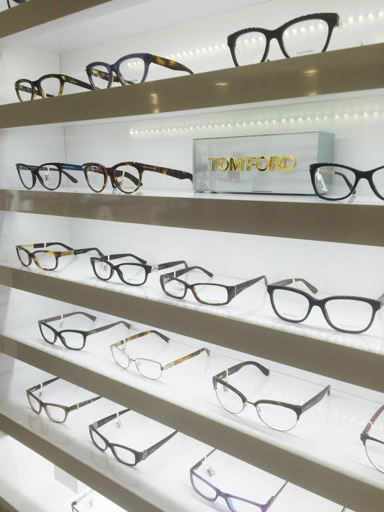 Tom Ford Designer Eyewear at Unionville Optometry in Markham ON