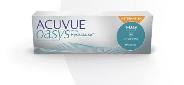 Acuvie OASYS with HydraLuxe 1-Day Astigmatism Contacts