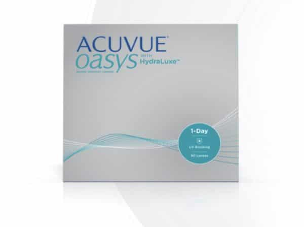 Acuvie OASYS with HydraLuxe 1-Day Contacts