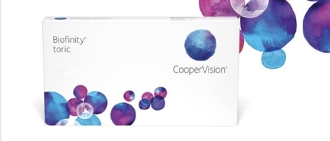 Biofinity Harmony Toric Lenses by Cooper Vision