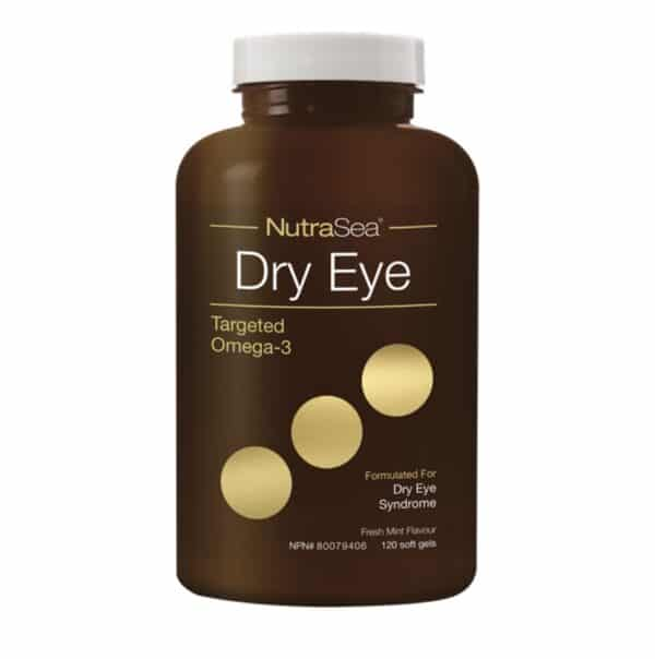 NutraSea Dry Capsule - Targeted Omega-3 formulated for Dry Eye Syndrome